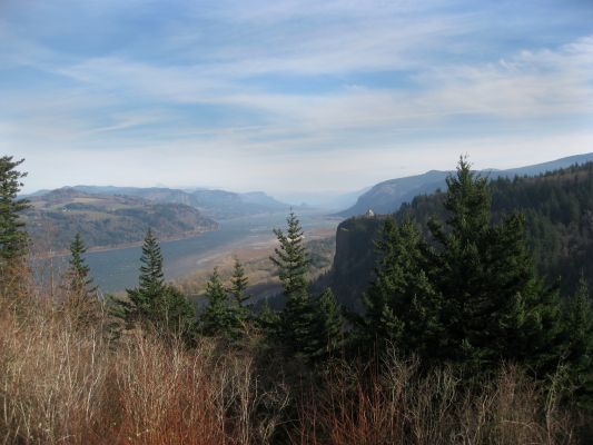The Gorge from Chanticleer Point